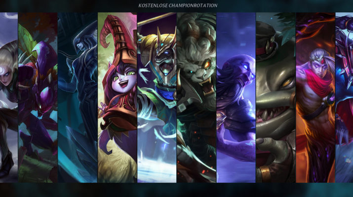 League of Legends - Kostenlose Champion Rotation 20. September 2016