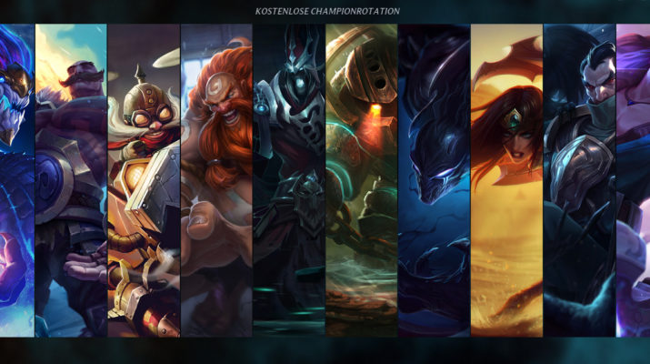 League of Legends - Kostenlose Champion Rotation 11. Oktober 2016