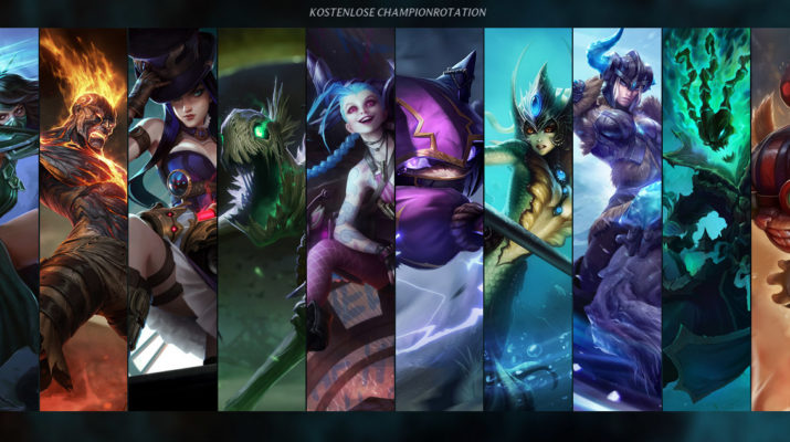 League of Legends - Kostenlose Champion Rotation 18. Oktober 2016